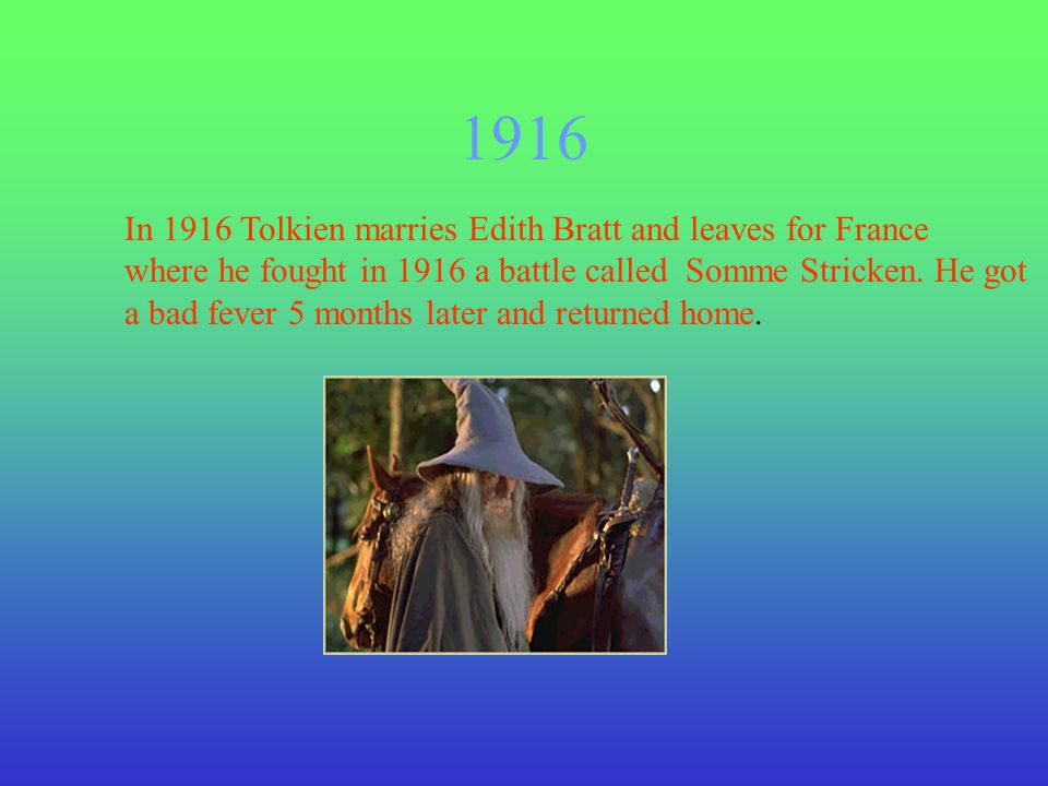 1954-1956 In 1954-1956 J.R.R Tolkien released the three Lord Of The Rings novels.
