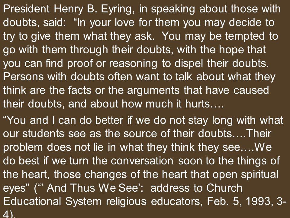 President Henry B.