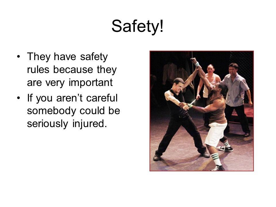 Safety.