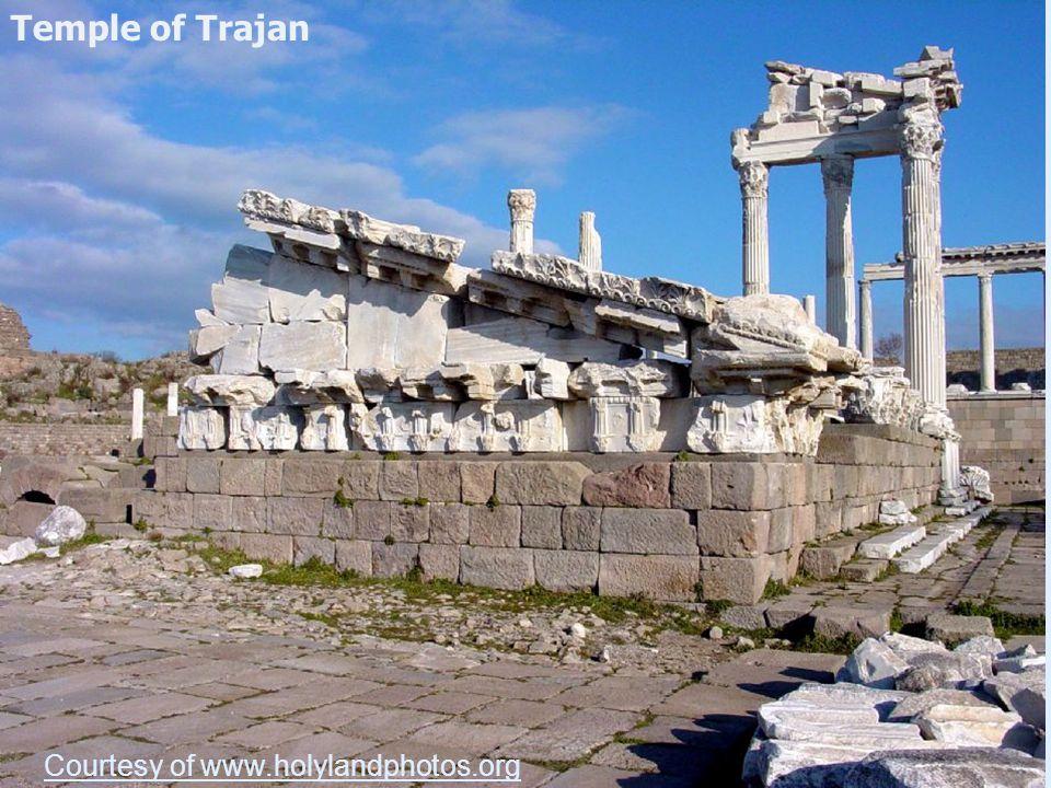 Temple of Trajan Courtesy of www.holylandphotos.org