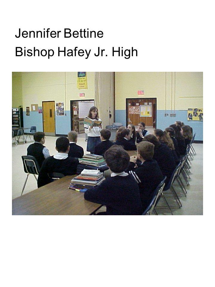 Jennifer Bettine Bishop Hafey Jr. High