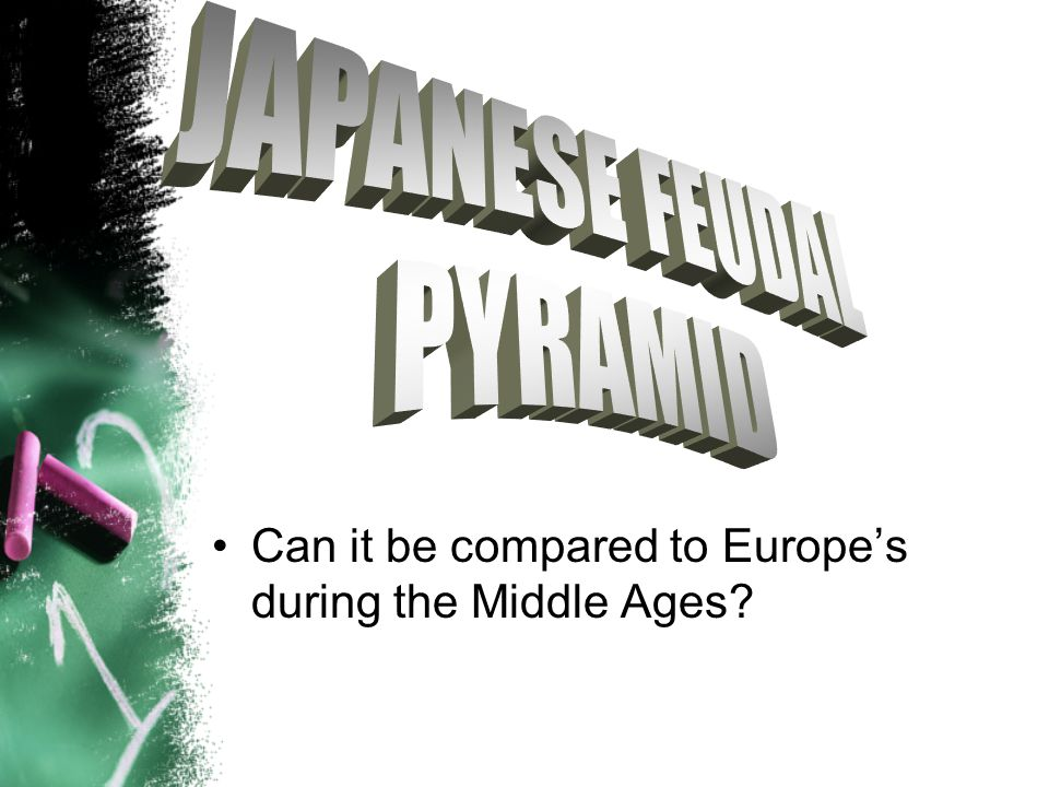 Can it be compared to Europe's during the Middle Ages?