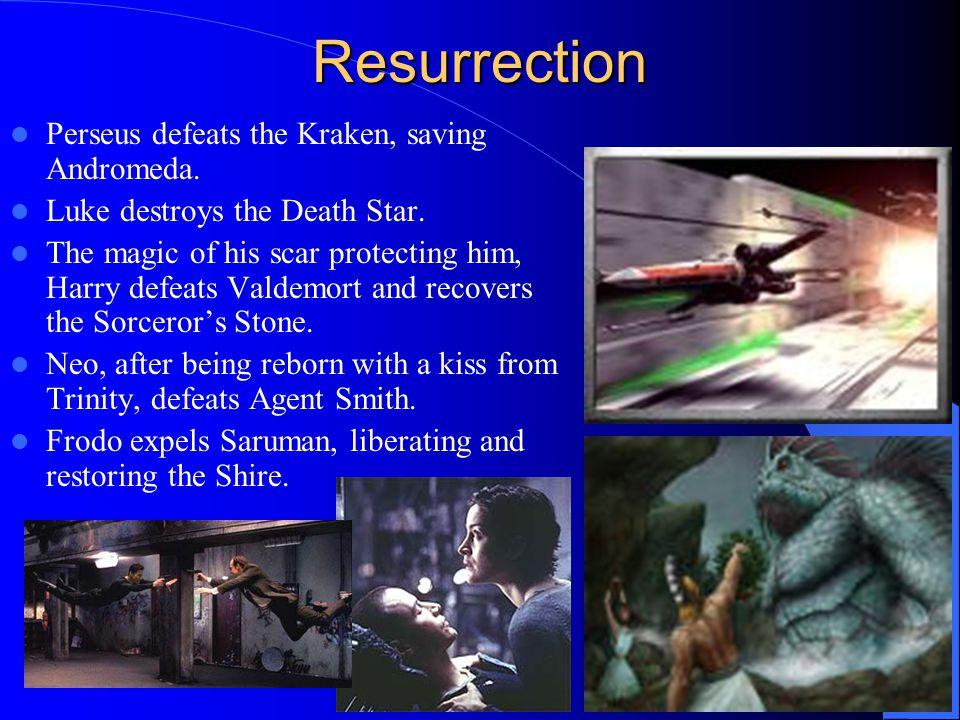 Resurrection Perseus defeats the Kraken, saving Andromeda.
