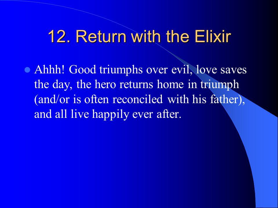 12. Return with the Elixir Ahhh.