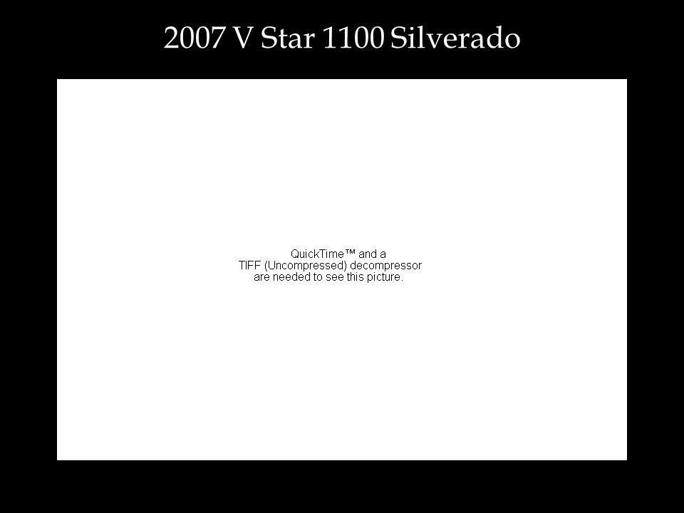 2007 V Star 1100 Silverado