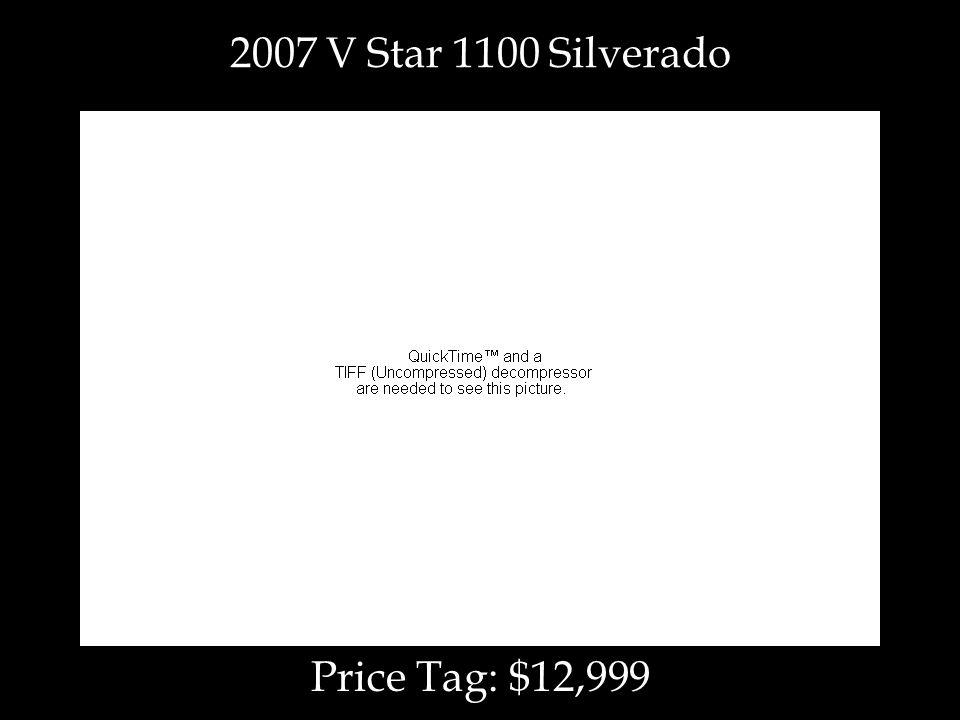 Price Tag: $12,999