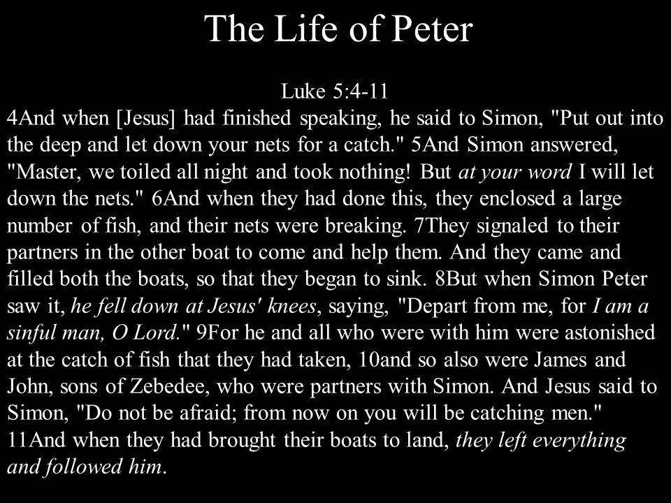 Two Great Truths Peter learns 1. At times, he can be completely faithless.