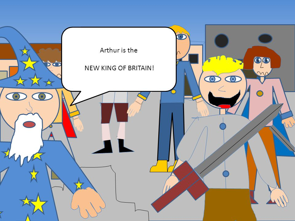 <<< <<<< < Arthur is the NEW KING OF BRITAIN!