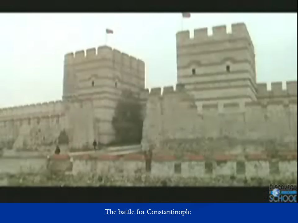 The battle for Constantinople