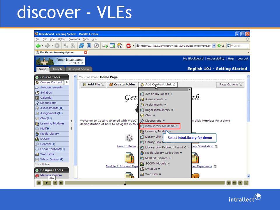 discover - VLEs