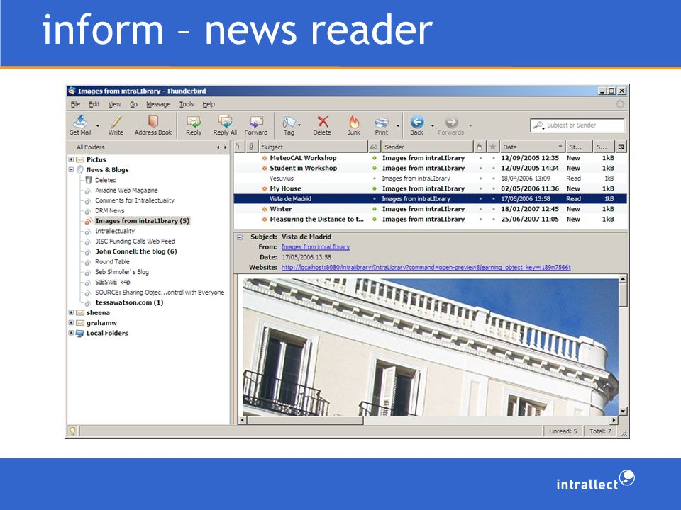 inform – news reader