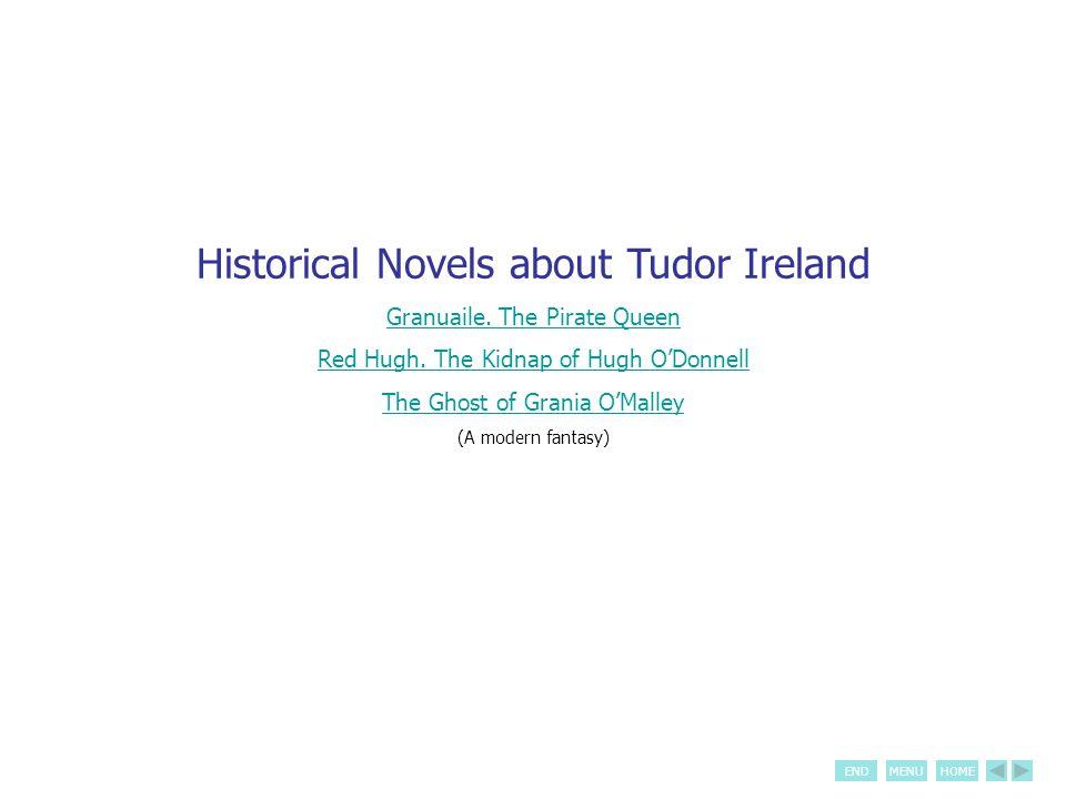 ENDMENUHOME Historical Novels about Tudor Ireland Granuaile.