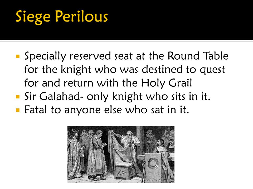 """ Mystical Table in Camelot  Symbol of Unity (Often associated with democracy as no knight is """"higher"""" at the table.  Given to Arthur by King Lodegr"""