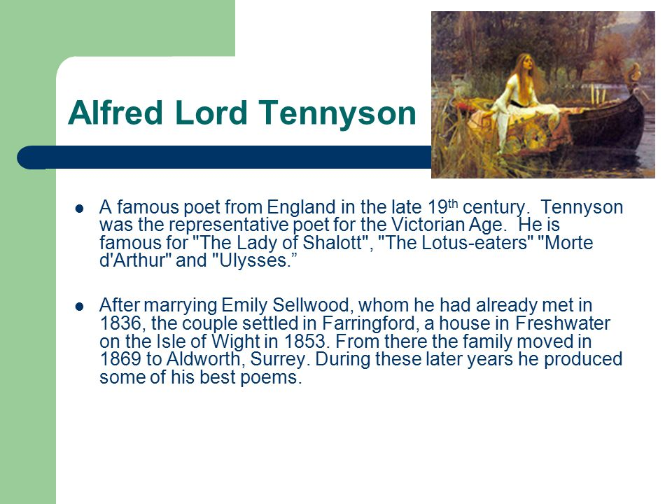 Summary In Tennyson's poem, King Arthur is near death and guarded by his knight, Sir Bedivere.