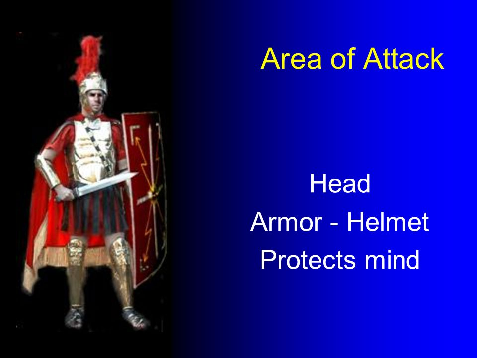 Area of Attack Head Armor - Helmet Protects mind