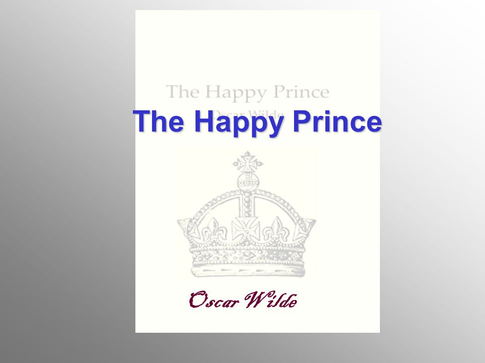 The Happy Prince Oscar Wilde