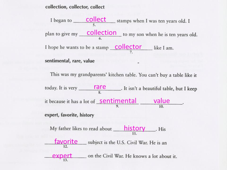 collect collection collector rare sentimentalvalue history favorite expert