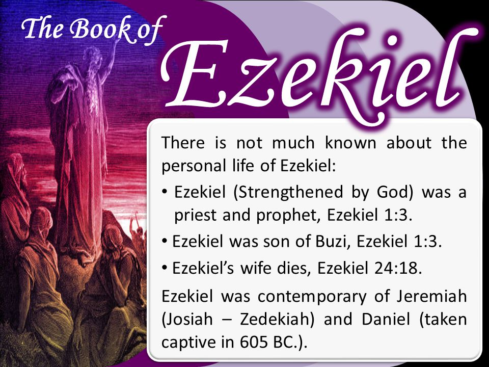 The Book of The book of Ezekiel is a book that should help us see the goodness and the severity of God.