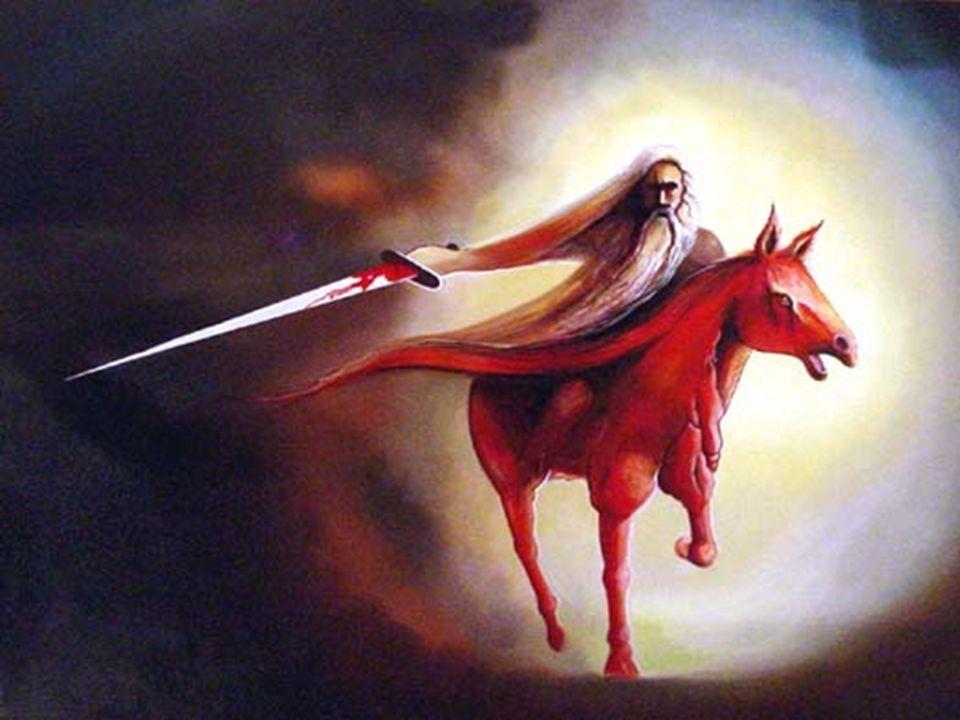 No peace. Massive killings. A great sword.