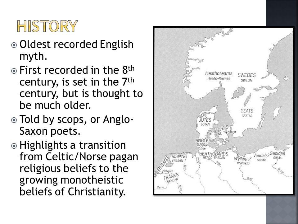  Oldest recorded English myth.