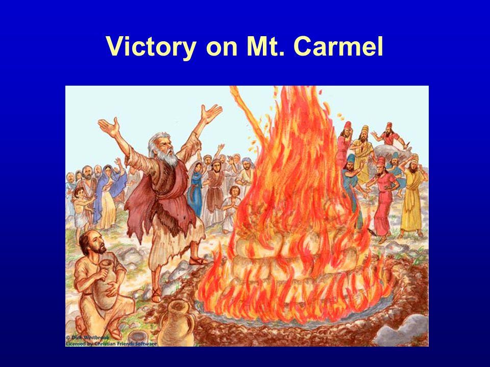 Victory on Mt. Carmel