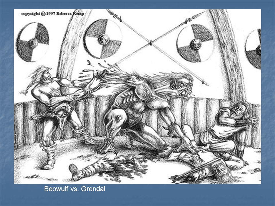 Beowulf vs. Grendal