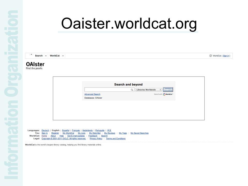 Oaister.worldcat.org