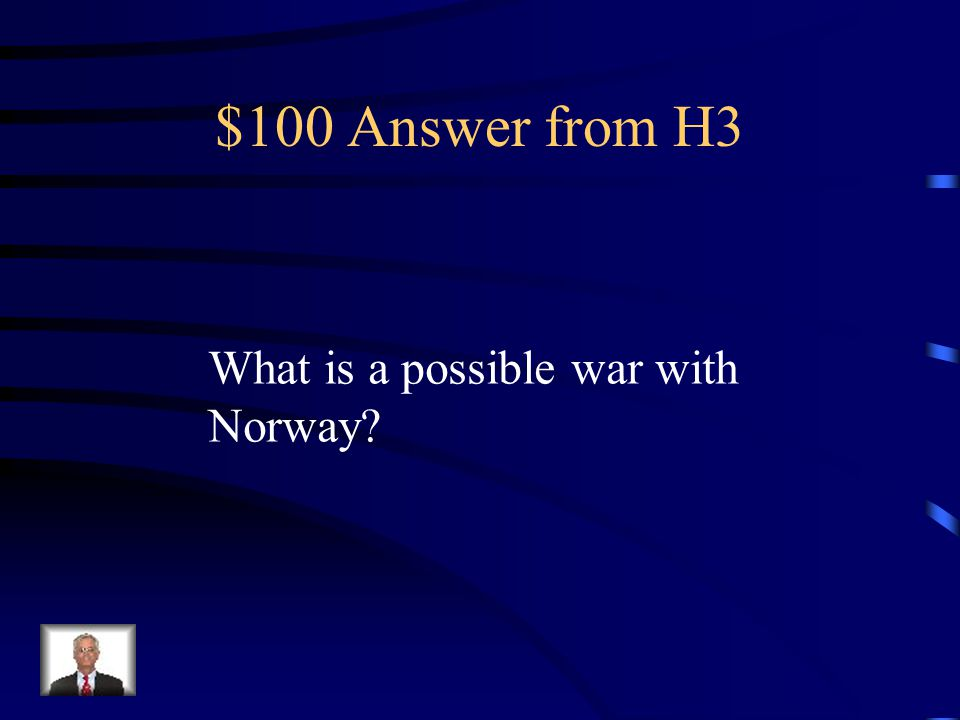 $100 Question from H3 At the beginning of the play, Denmark is keeping guard because they are preparing for this.