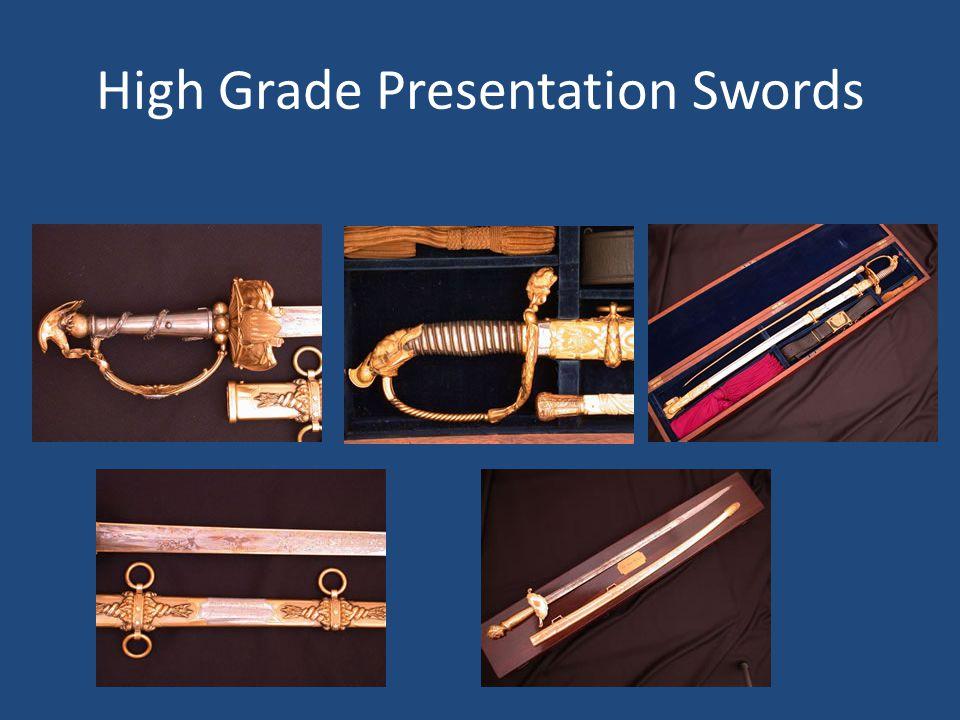 High Grade Presentation Swords
