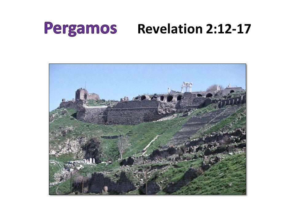 The City of Pergamos 50 miles N/NE.