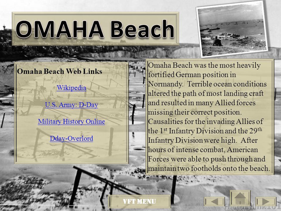 Utah Beach was added towards the end of the invasion plan.