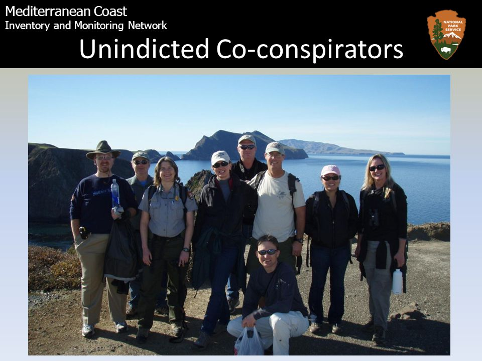 Mediterranean Coast Inventory and Monitoring Network Unindicted Co-conspirators