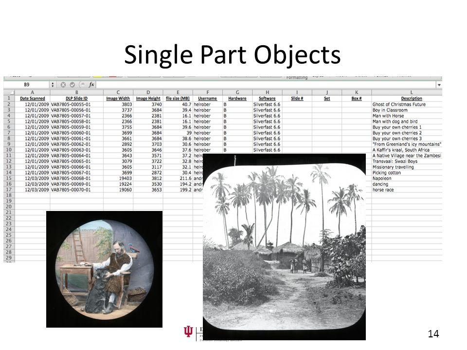Single Part Objects 14