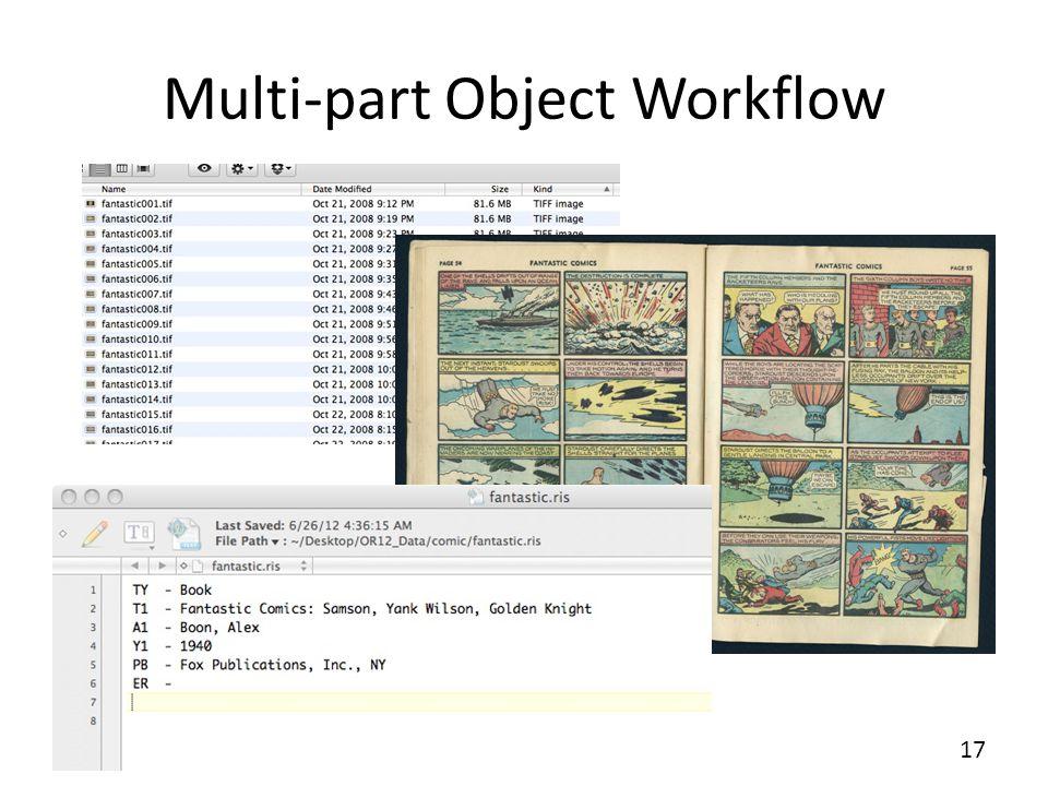 Multi-part Object Workflow 17