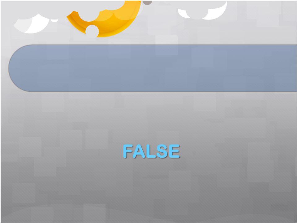 FALSE FALSE