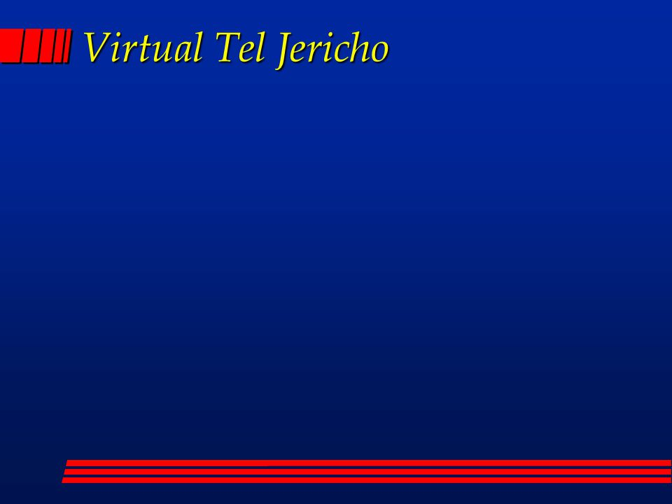 Virtual Tel Jericho