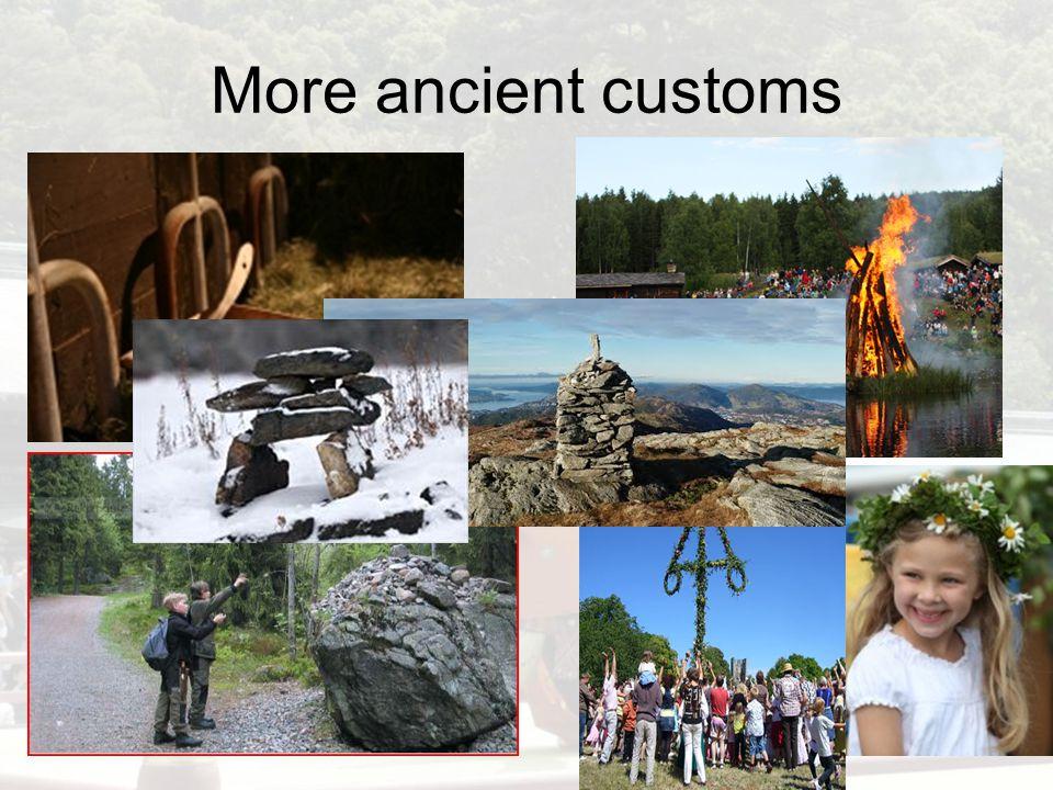 Ancient customs