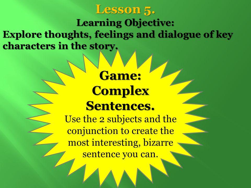 Lesson 5.