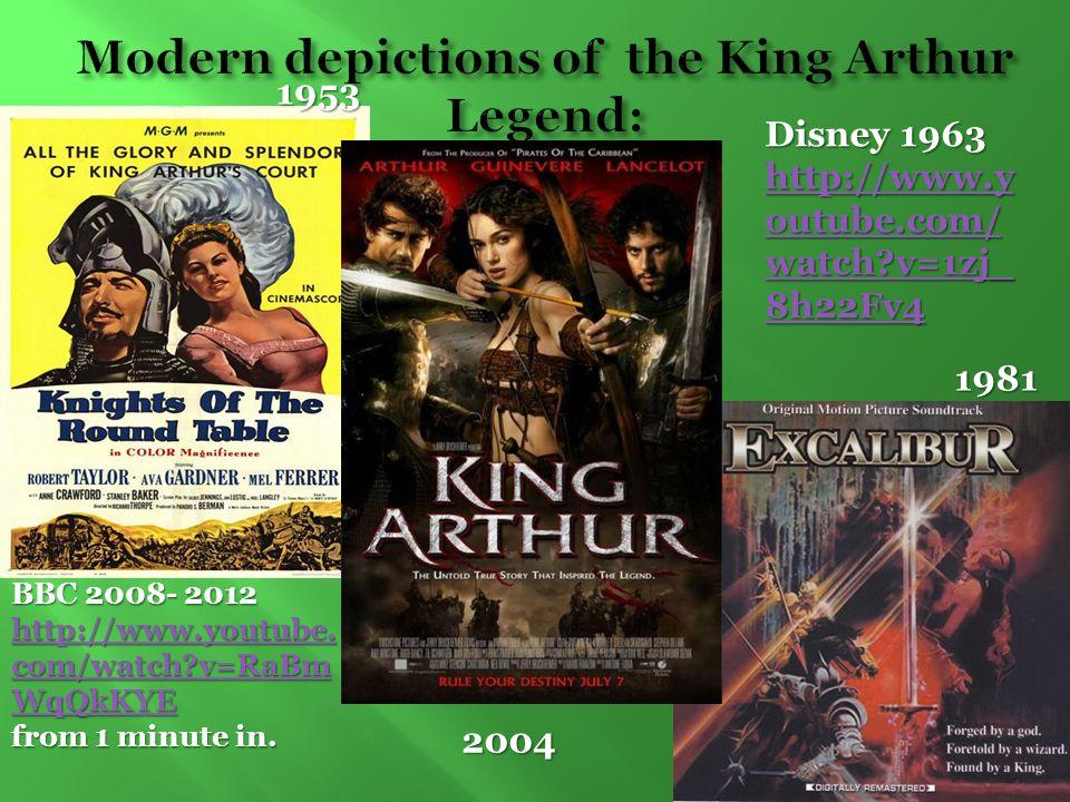 1953 1981 2004 Disney 1963 http://www.y outube.com/ watch?v=1zj_ 8h22Fv4 http://www.y outube.com/ watch?v=1zj_ 8h22Fv4 BBC 2008- 2012 http://www.youtu