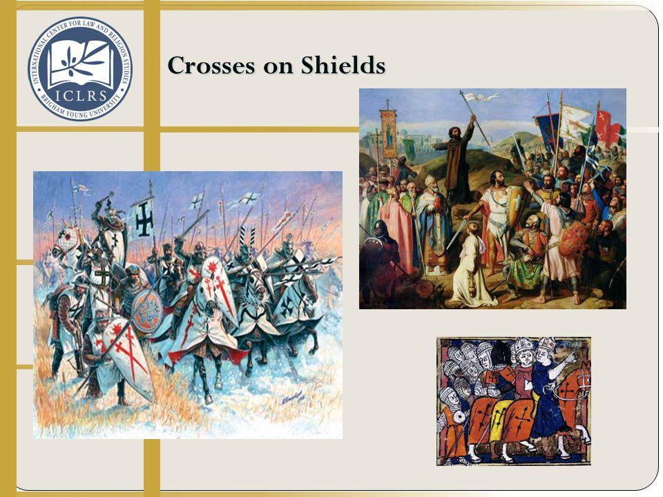Crosses on Shields