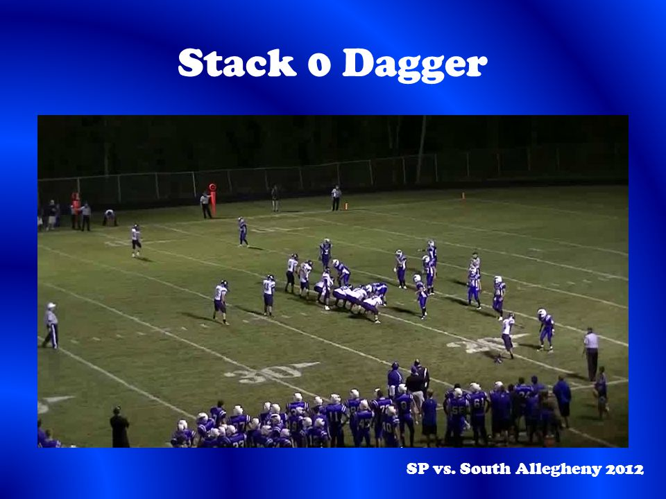 Stack 0 Dagger SP vs. South Allegheny 2012