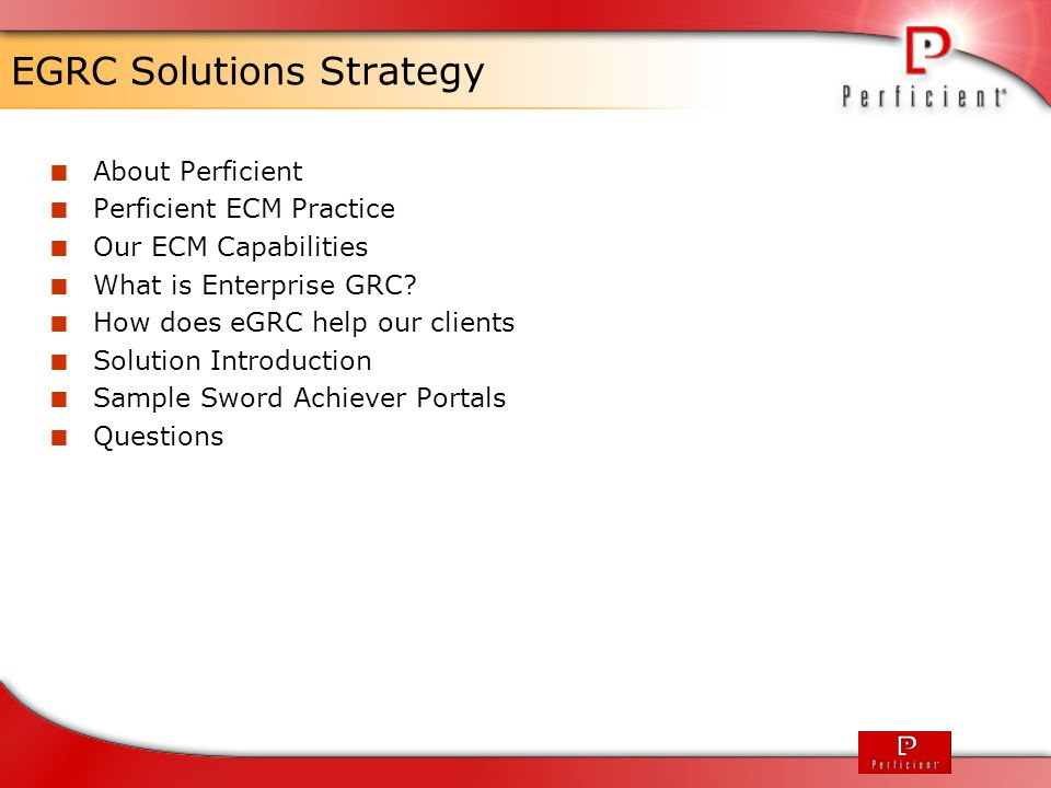 Solution Architecture Primary and secondary integration points to ECM system Document I/O (incl.