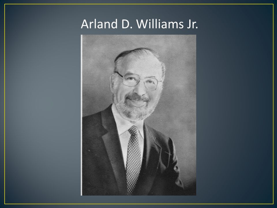 Arland D. Williams Jr.