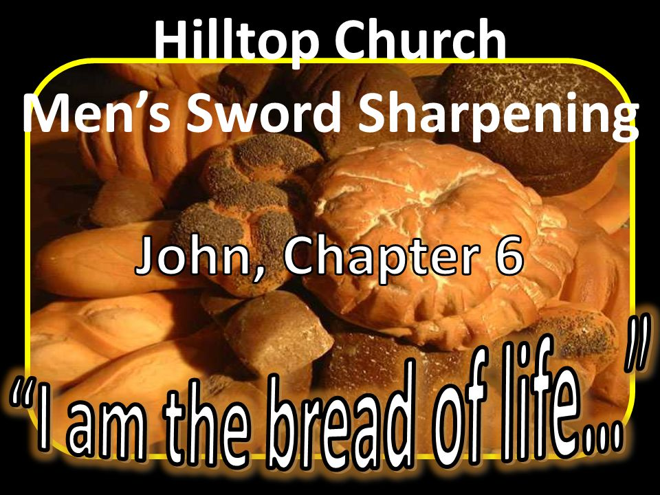 Three Responses to Jesus V. 60-71 Mastering …the Sword of the Spirit, which is the Word of God.
