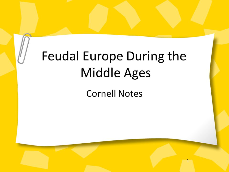 2 Timeline Early Middle Ages: 500 – 1000 High Middle Ages: 1000 – 1250 Late Middle Ages: 1250 - 1500