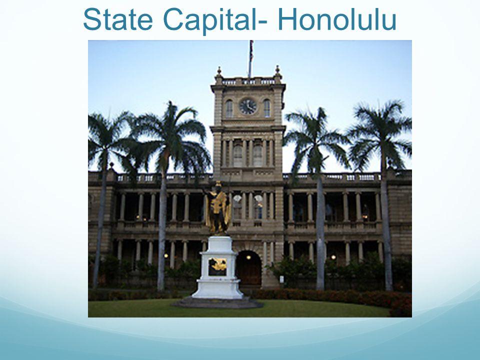 State Capital- Honolulu