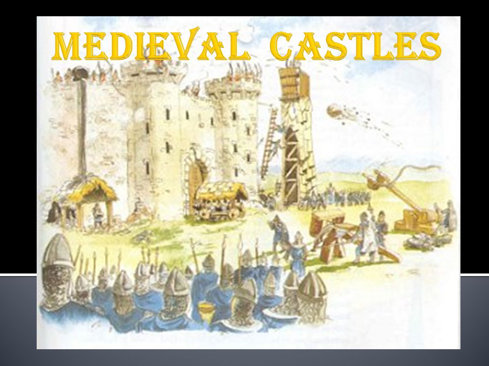  Earliest form of castles built  Made entirely of wood  The Motte  On a large hill  a wooden keep (lookout).
