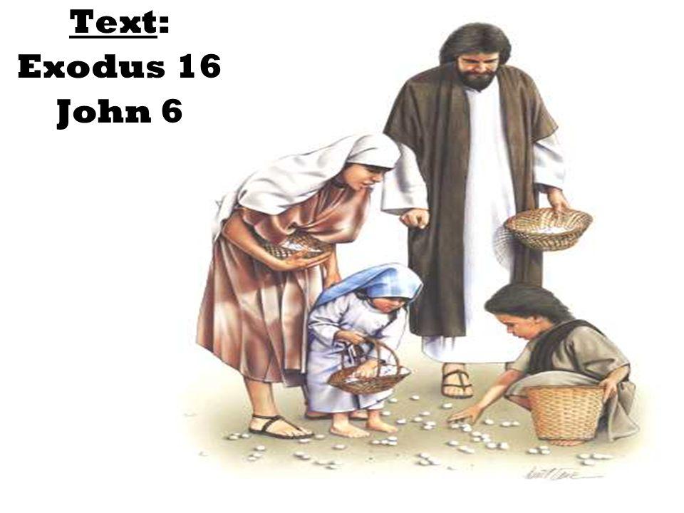 Text: Exodus 16 John 6