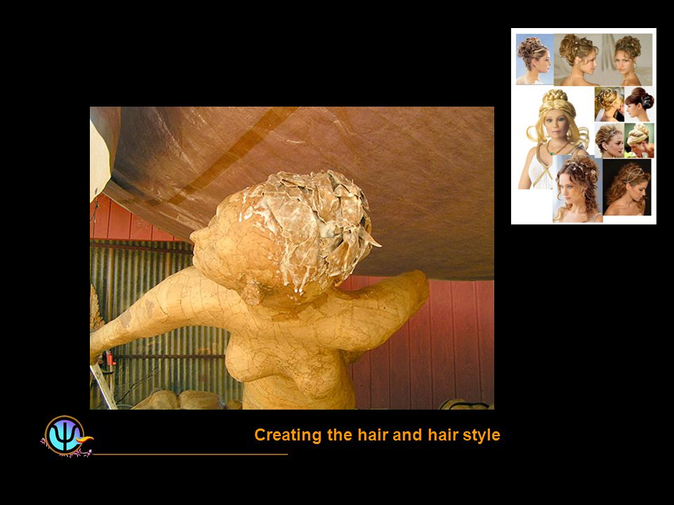 Creating the hair and hair style