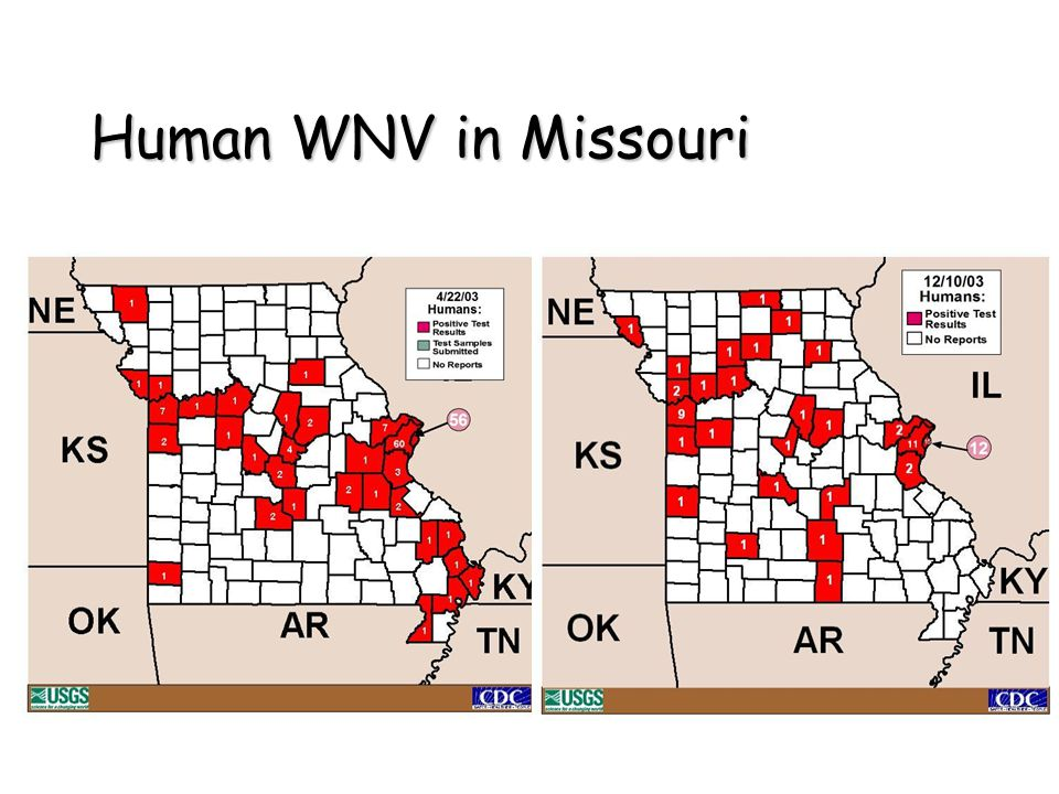 Human WNV in Missouri